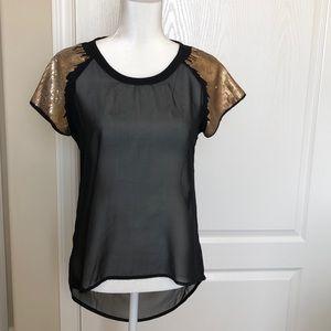 Fun & Flirt Short Sleeve Blouse